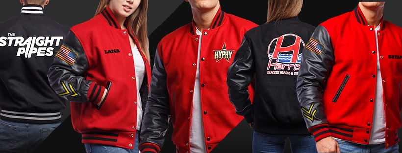The Best Quality Letterman Jackets, Available Wholesale