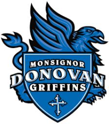 Monsignor Donovan High School mascot