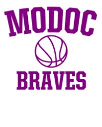 Modoc High School mascot